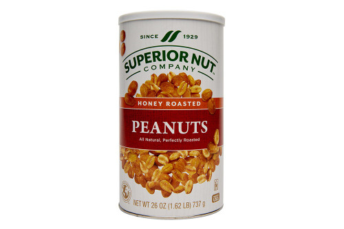 Superior Nut Company Honey Roasted Peanuts