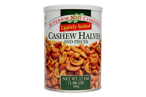 Light Salted Cashew Halves & Pieces