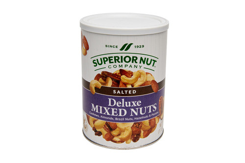 Superior Nut Salted Mixed Nuts No Peanuts