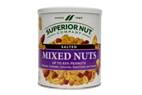 Superior Nut Salted Mixed Nut 65% Peanuts