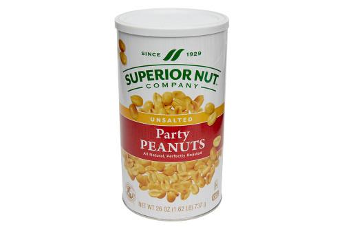 Superior Nut Company Unsalted Peanuts