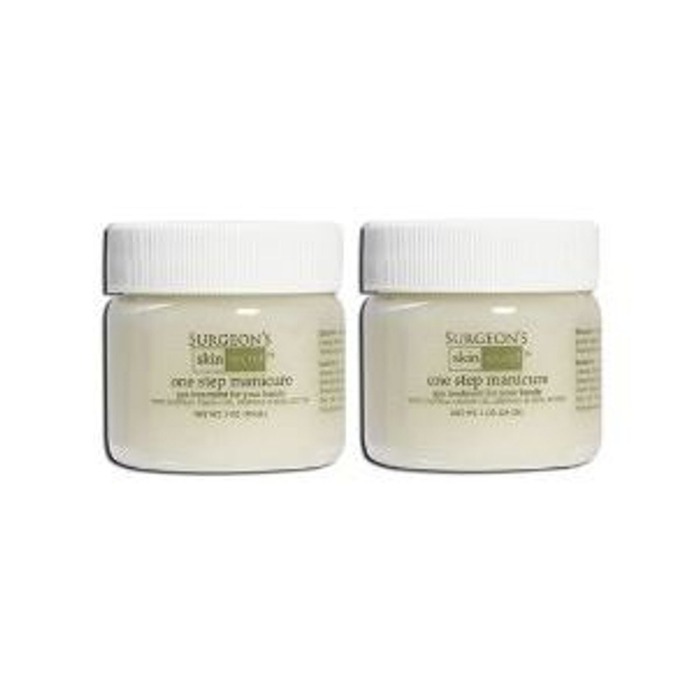 Surgeon's Skin Secret One Step Manicure/pedicure - 1 Oz Lemon - 2 Pack