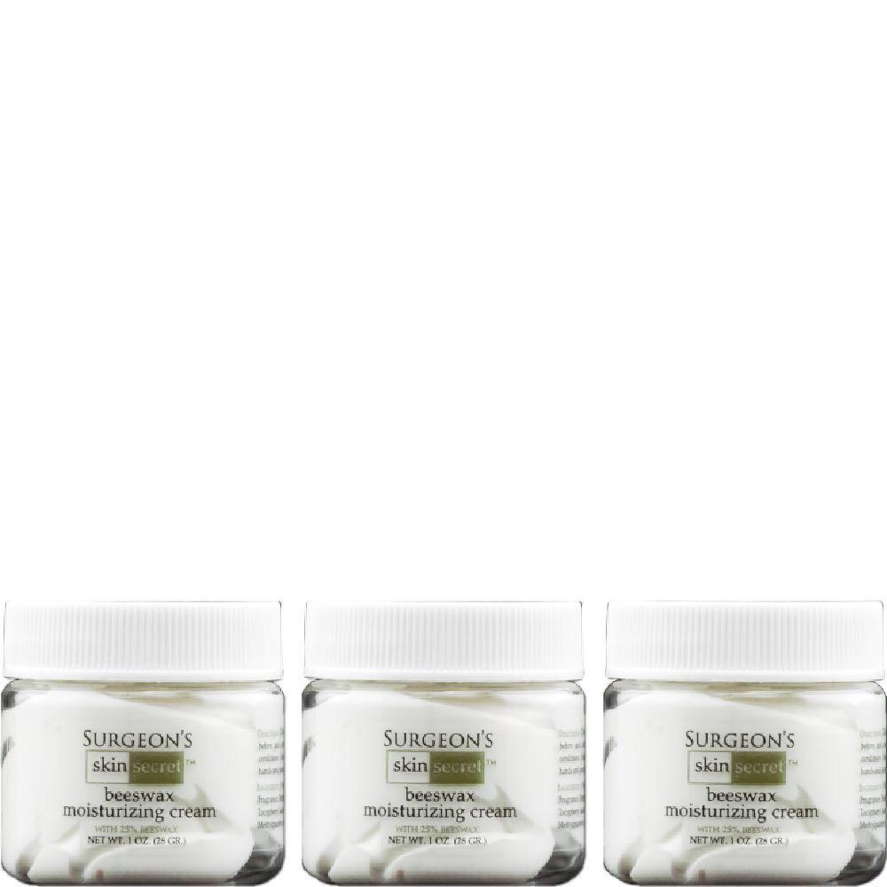 Surgeon's Skin Secret™ Beeswax Moisturizing Cream 1oz. Jar (3 Pack) - Original Light Lavender
