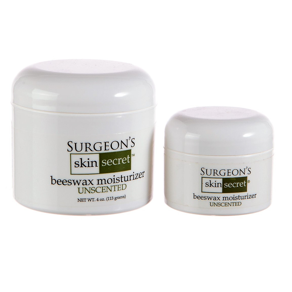 Surgeon's Skin Secret™ Beeswax Moisturizer Jar Combo Pack  - Unscented