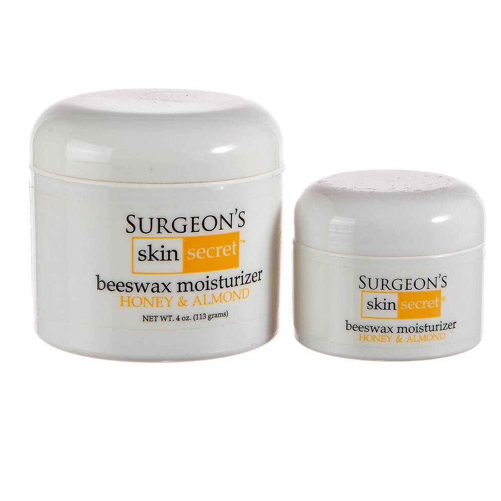 Surgeon's Skin Secret™ Beeswax Moisturizer Jar Combo Pack - Honey & Almond