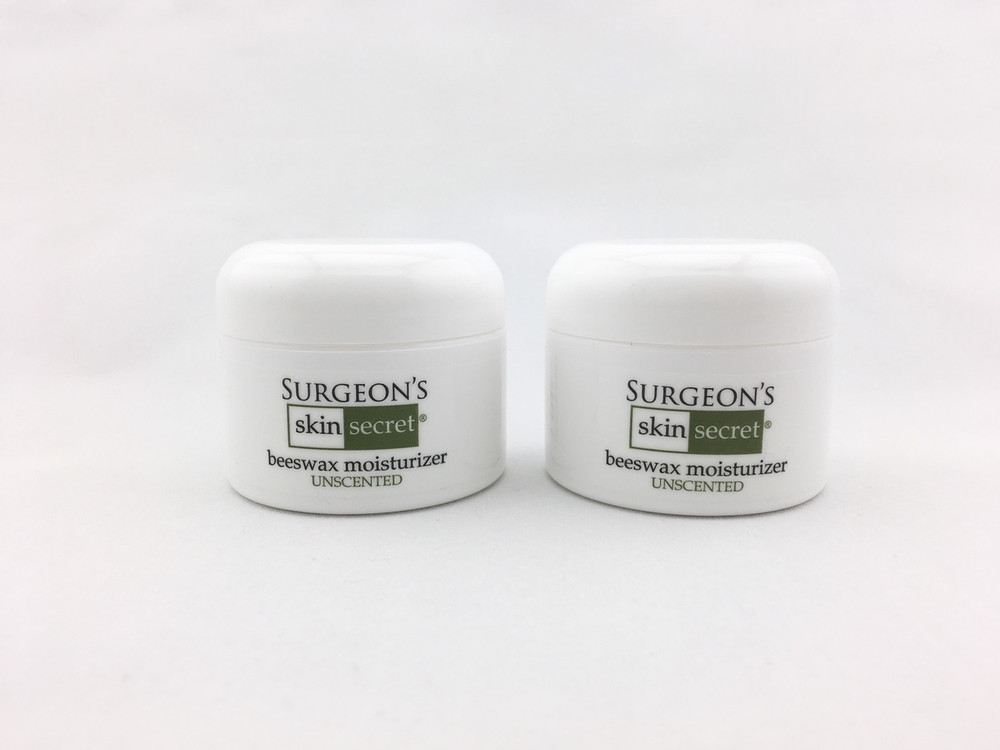 Surgeon's Skin Secret™ Beeswax Moisturizer 1oz. Jar 2-Pack - Unscented