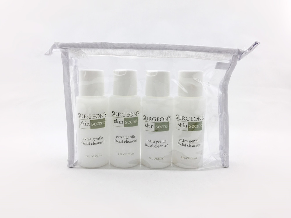 Surgeon's Skin Secret Extra Gentle Facial Cleanser 2 oz - 4 Pack