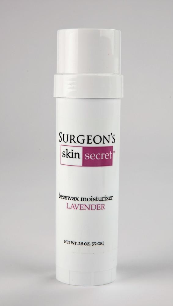 Surgeon's Skin Secret™ Beeswax Moisturizer  2.5oz. Twist-up Stick -  Lavender