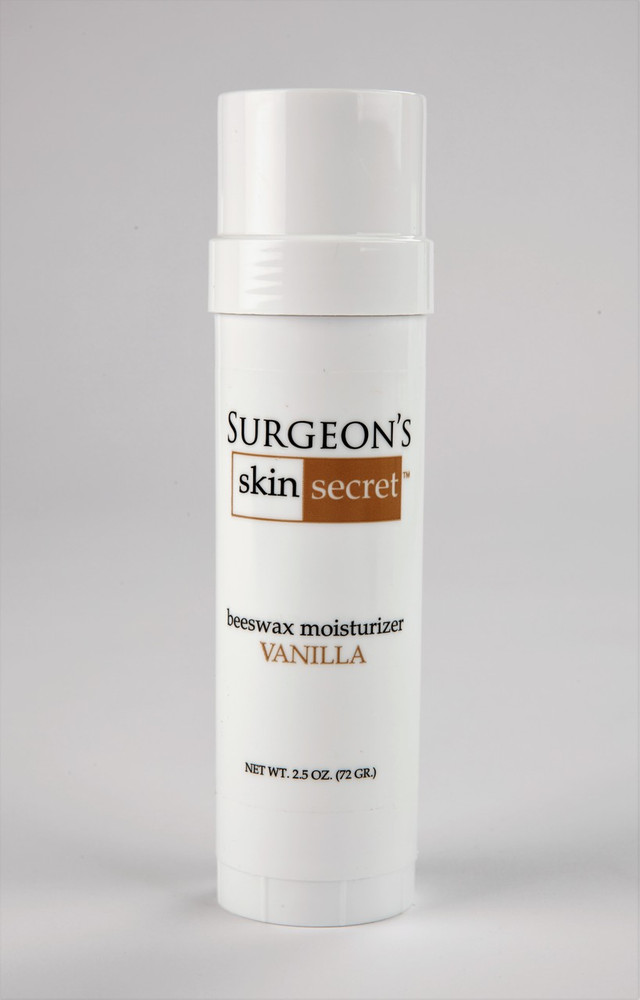 Surgeon's Skin Secret™ Beeswax Moisturizer  2.5oz. Twist-up Stick - Vanilla