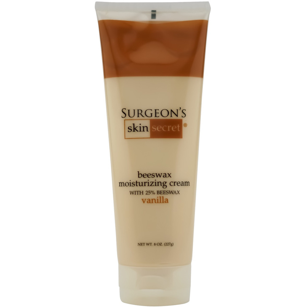 Surgeon's Skin Secret™ Beeswax Moisturizing Cream 8oz. Tube  - Vanilla