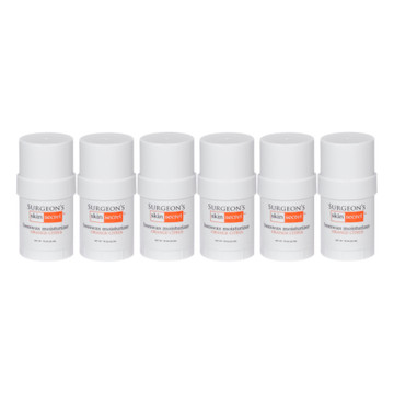 Surgeon's Skin Secret™ Beeswax Moisturizer .78 oz Twist-up Stick (6 Pack) - Orange Citrus