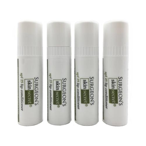 Surgeon's Skin Secret™ Beeswax Lip Balm SPF25 (4 Pack)
