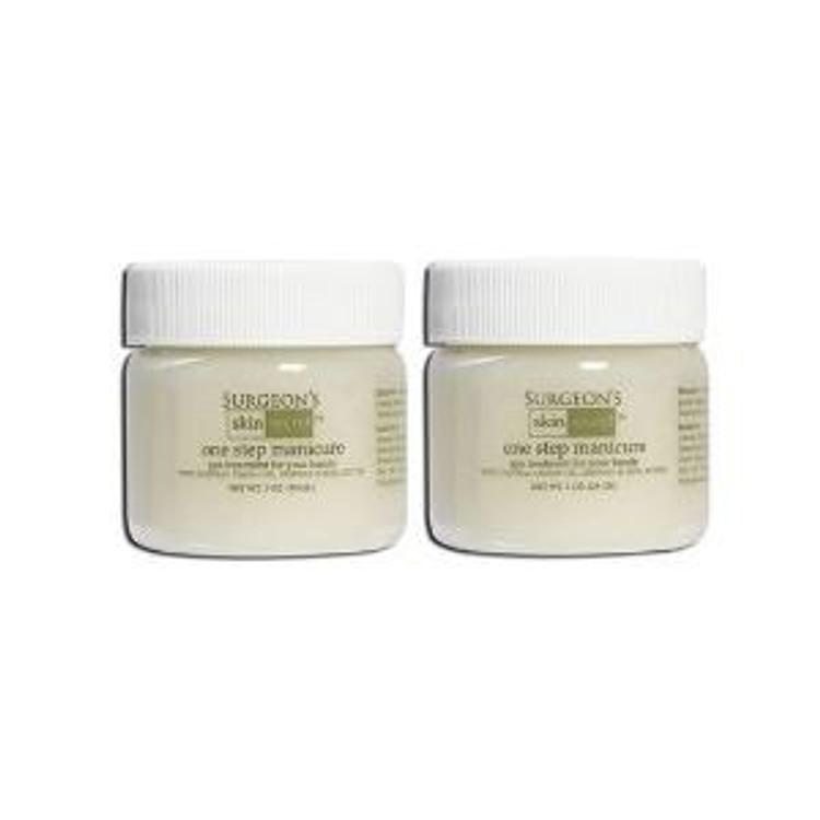 Surgeon's Skin Secret One Step Manicure/pedicure - 1 Oz Lemon - 2 Pack