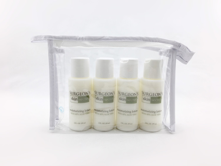 4pc 2oz aloe lotion