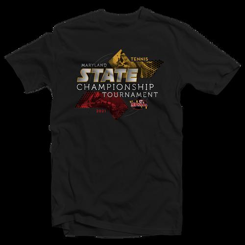 2021 MPSSAA Tennis State Championship T-Shirt