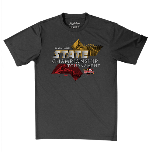 2021 MPSSAA Tennis State Championship Performance T-Shirt