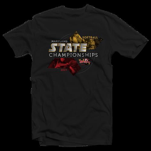 2021 MPSSAA Softball State Championships T-Shirt