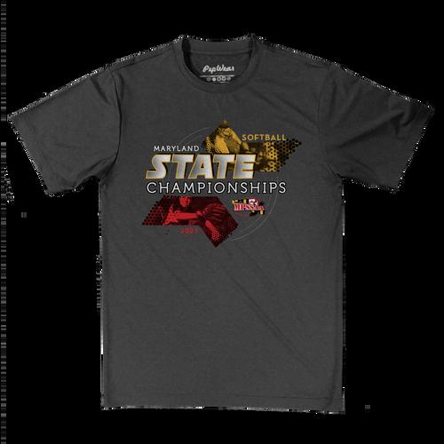 2021 MPSSAA Softball State Championship Performance T-Shirt