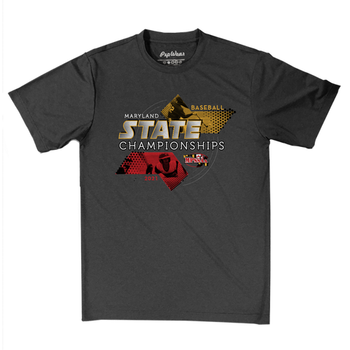 2021 MPSSAA Baseball State Championships Performance T-Shirt
