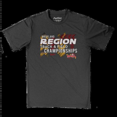 2021 MPSSAA Region Track & Field Championships Performance T-Shirt