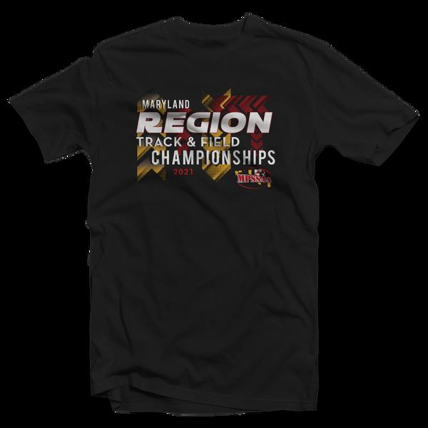 2021 MPSSAA Region Track & Field Championships T-Shirt