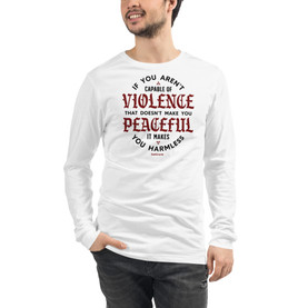 Peace And Violence - Long Sleeve