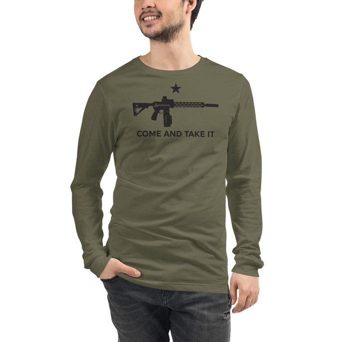 Come And Take It GatCrank - Long Sleeve
