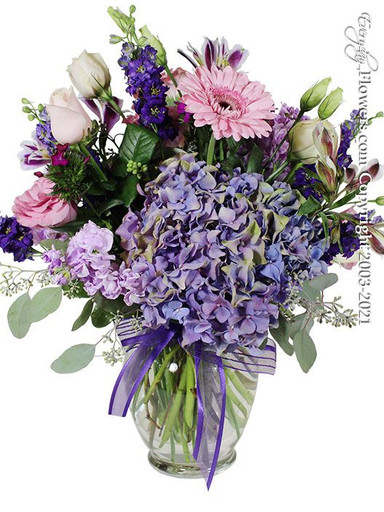 Chromatic Blooms by Everyday Flowers available for same day delivery in Orange County California.