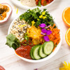 KOREAN BUDDAH BOWL with SAUERKRAUT