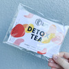 DETOX TEA: This tea will aid the detox process using herbs such as Calendula,Lemongrass and Licorice Root. We also add Rose as it is great at reducing inflammation + making your skin glow
