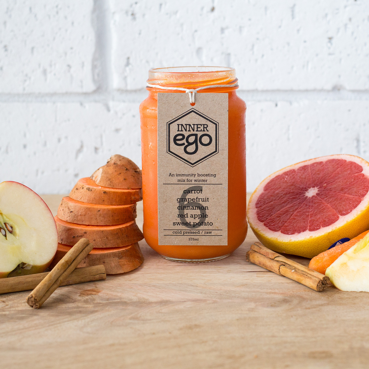 Cold Pressed Juice #6 - An Immunity Boosting Mix