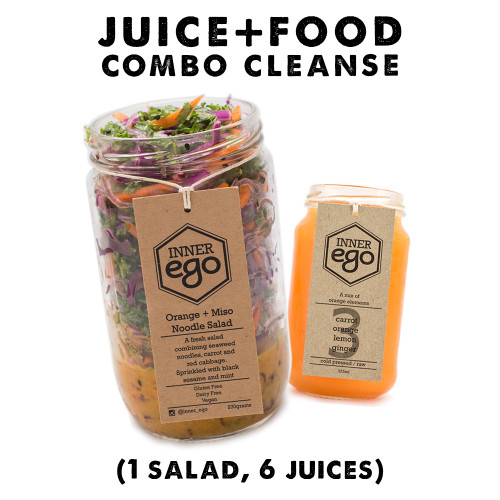 A nourishing combo of Juices + Salads + Soups