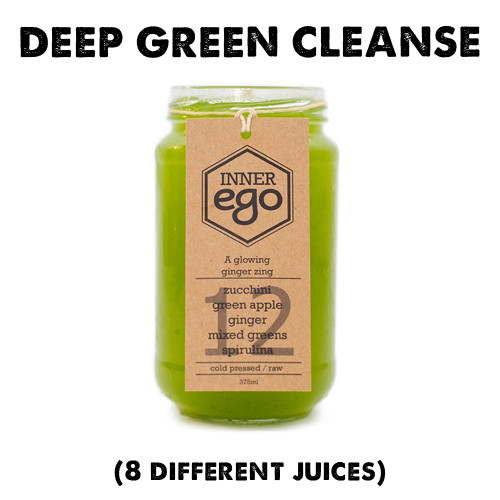 This cleanse contains less fruit and more vegetables, than our other options. The REWIND cleanse also features more medicinal herbs and spices than our other cleanses: E3 Live, Spirulina, Turmeric and Ginger to heal and have you feeling amazing!