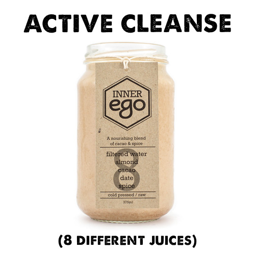 The RECOVER cleanse contains more nut milks, making it higher in protein, fat and magnesium all essential for post-workout recovery. We also include some green and beet juices to aid in mineral replenishment lost through sweating