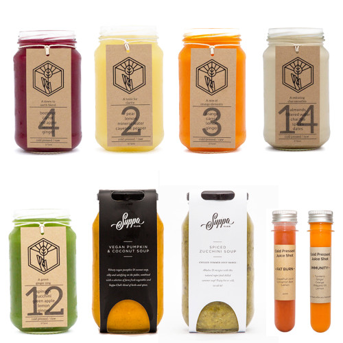 Winter Soup and Juice cleanse. Boost your immunity with a nourishing mix of soups, juices and almond milks.