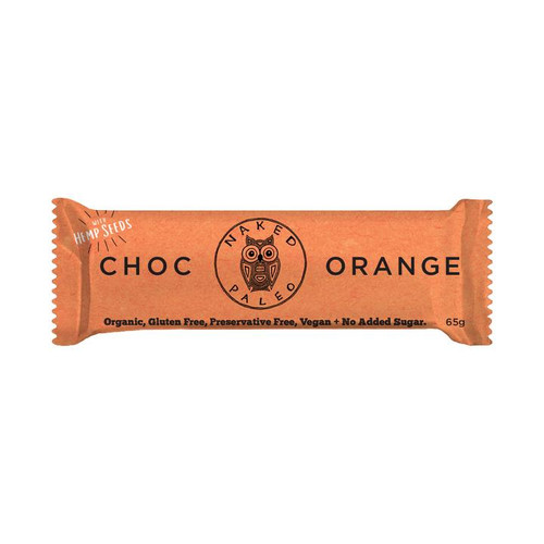 A classic Chocolate and orange combo. The best paleo bars on the market