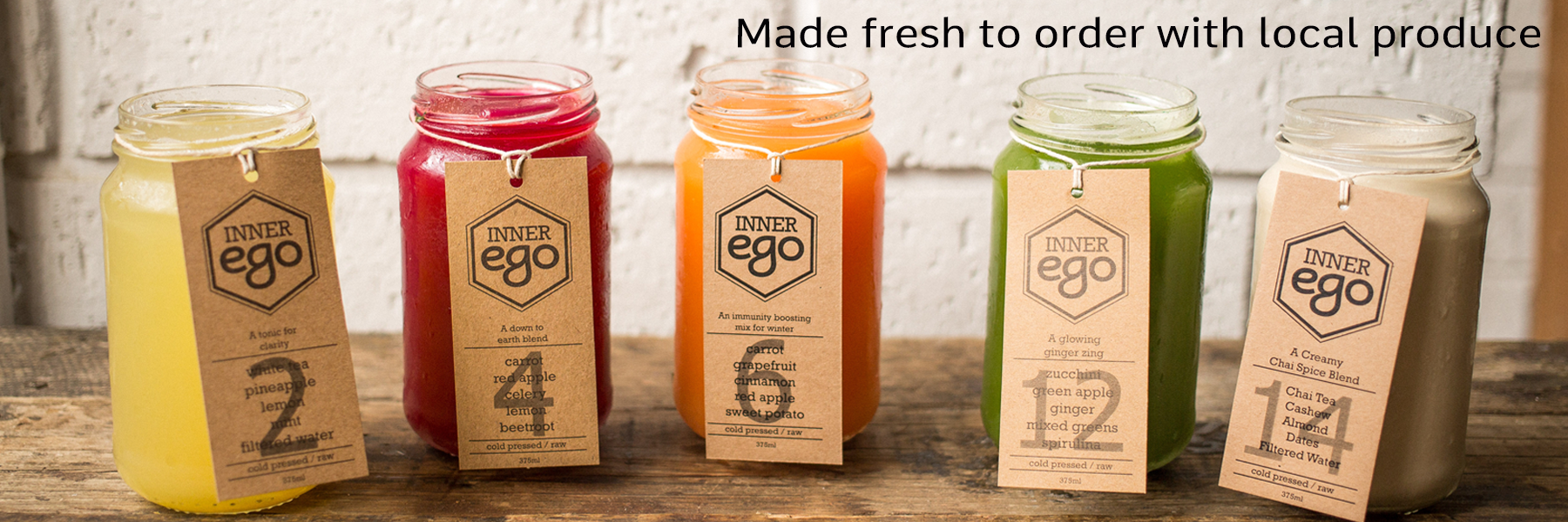 Inner Ego Cold Press - Pressed Juice Cleanse Perth