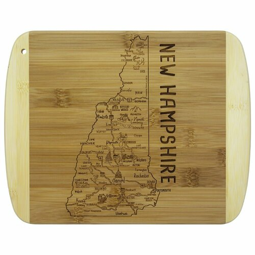 Slice of Life New Hampshire Cutting & Serving Board