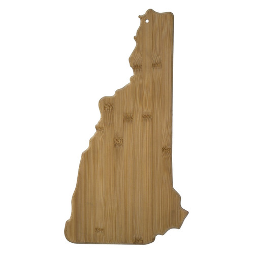 New Hampshire-Shaped Cutting & Serving Board