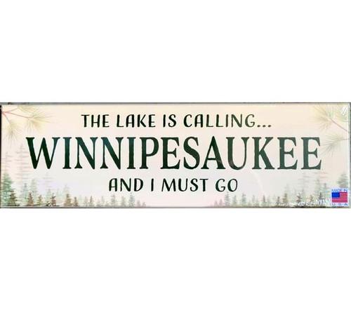 Lake Winnipesaukee is Calling Sign