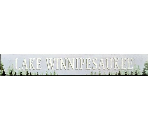 Lake Winnipesaukee Sign