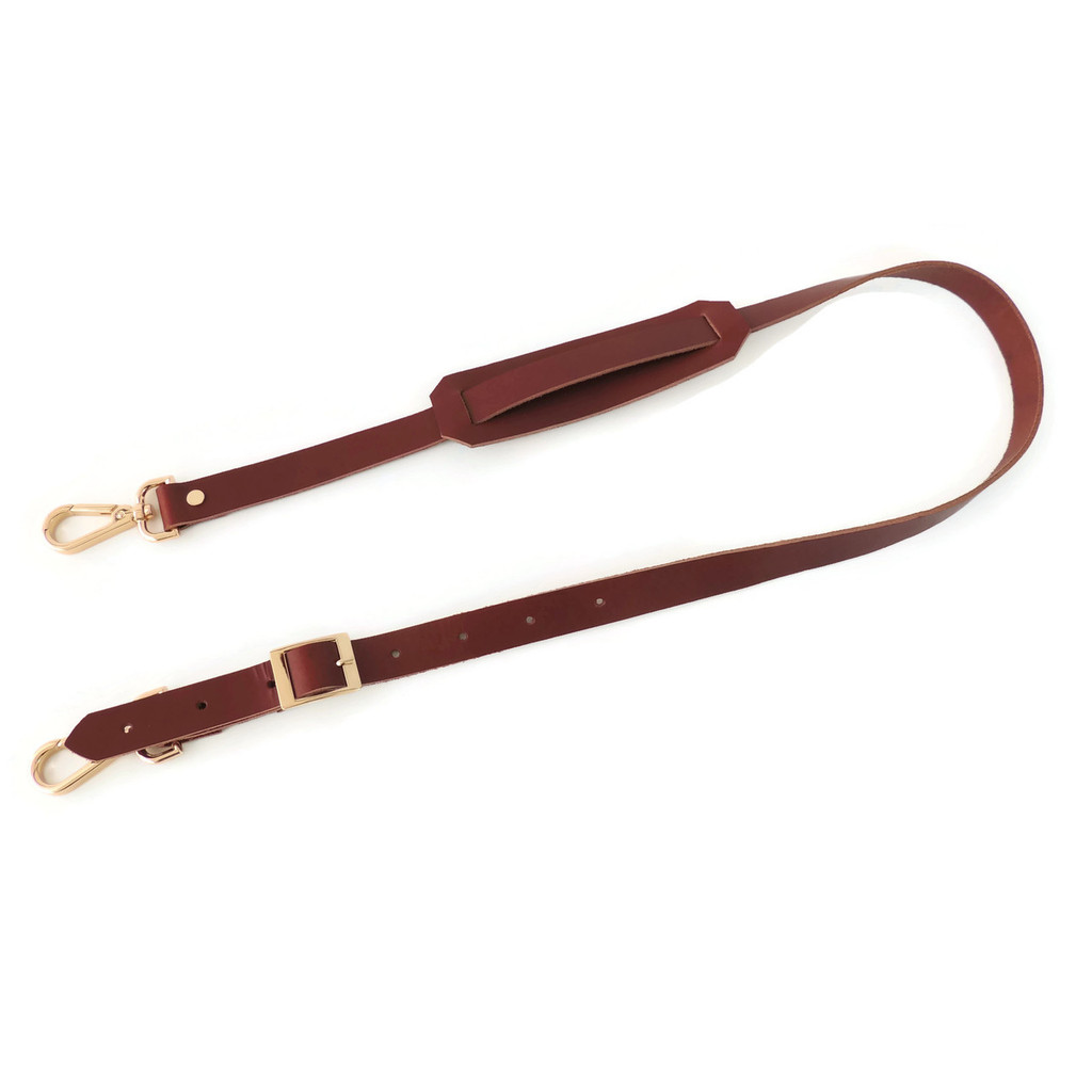 Optional leather strap