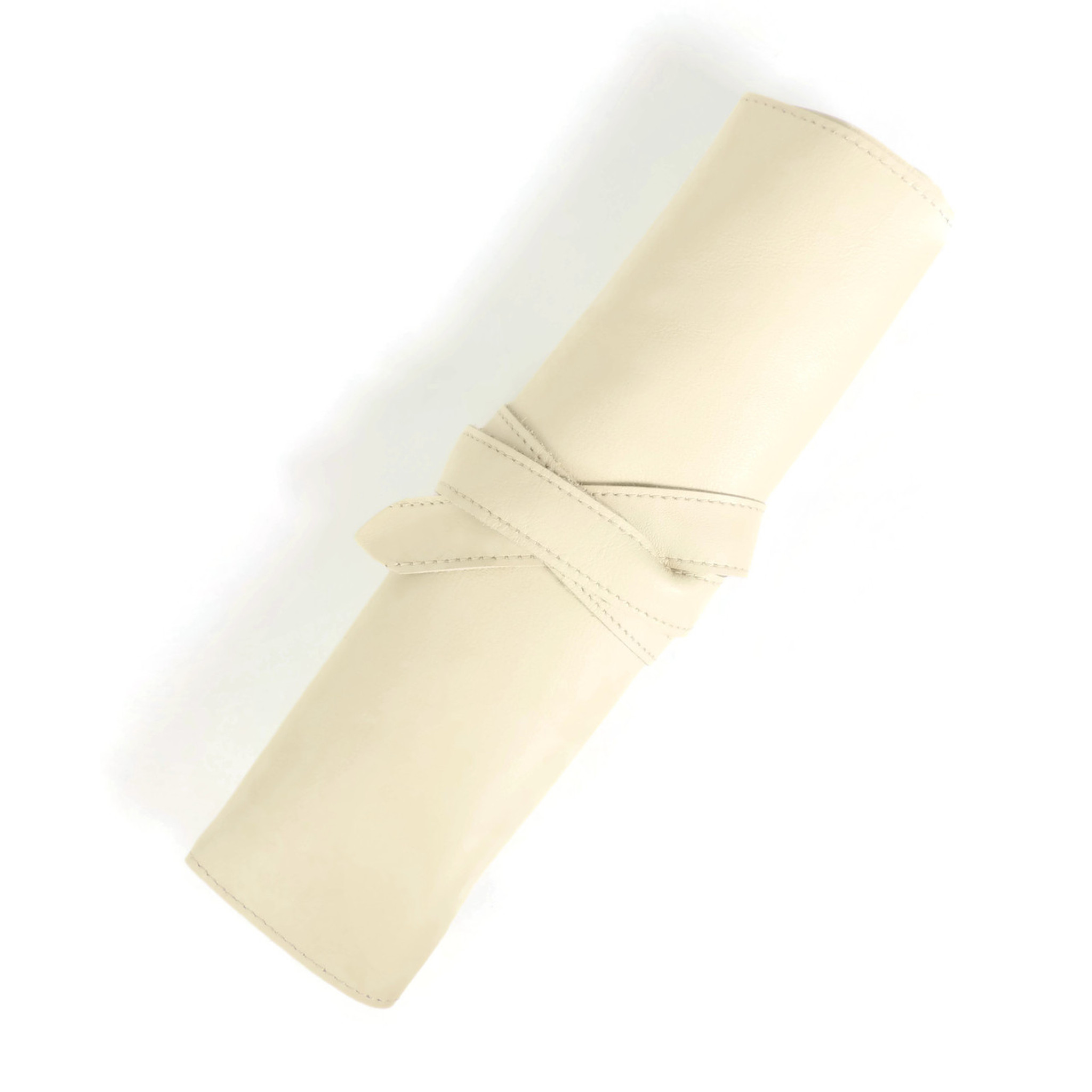 Jewelry Roll in Cream
