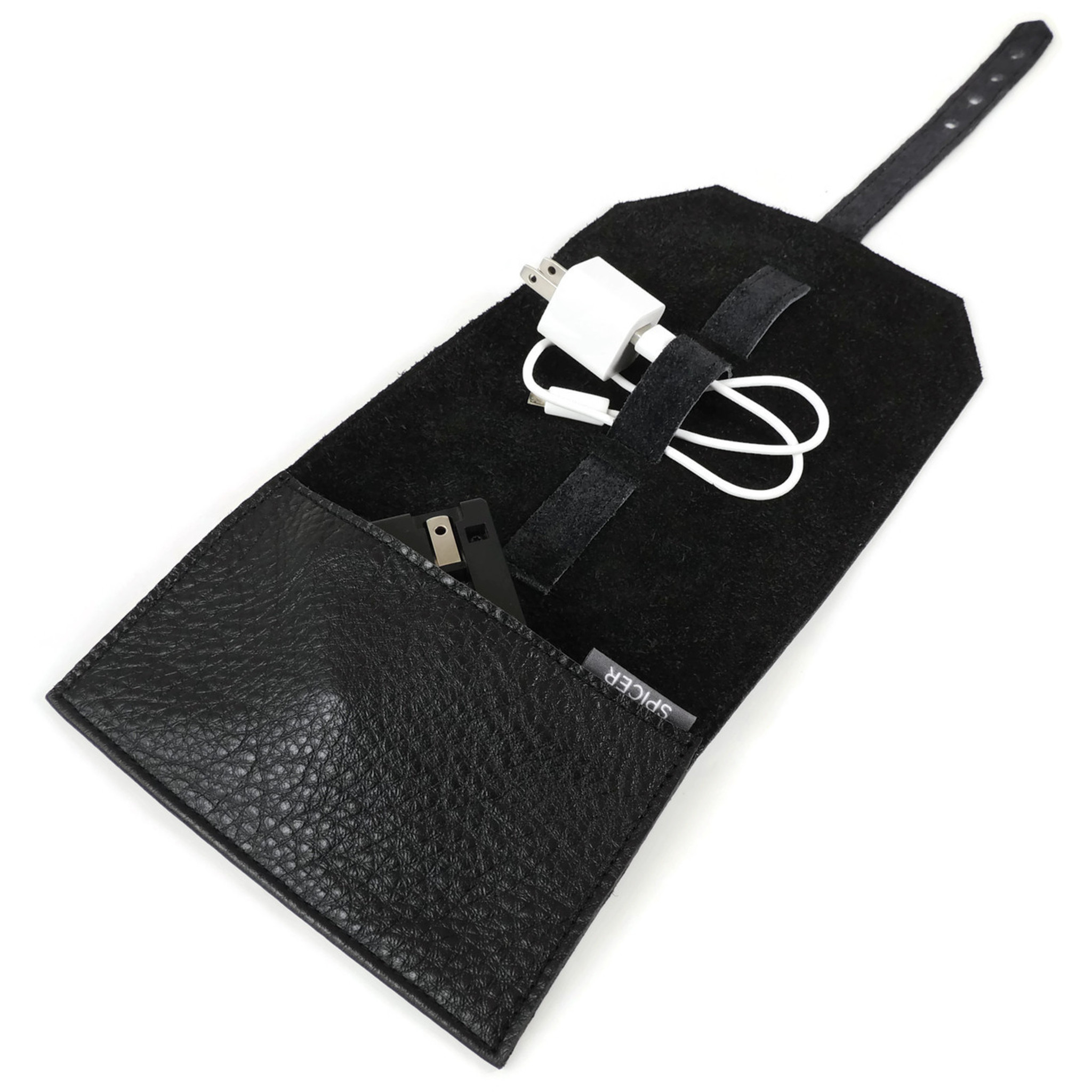 Cord Roll in Black