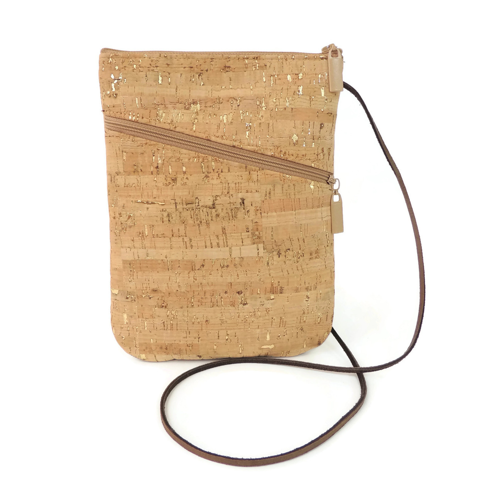 Cork Social Bag in Cork Dash Gold