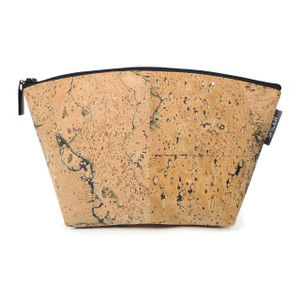 Small Standing Pouch in Marble Cork