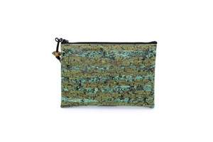 New for Summer!!  Fennel Green Mini Pouch