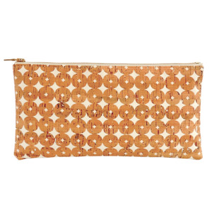 Clutch in Cork Dots
