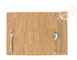 Placemat in Cork Dash Gold