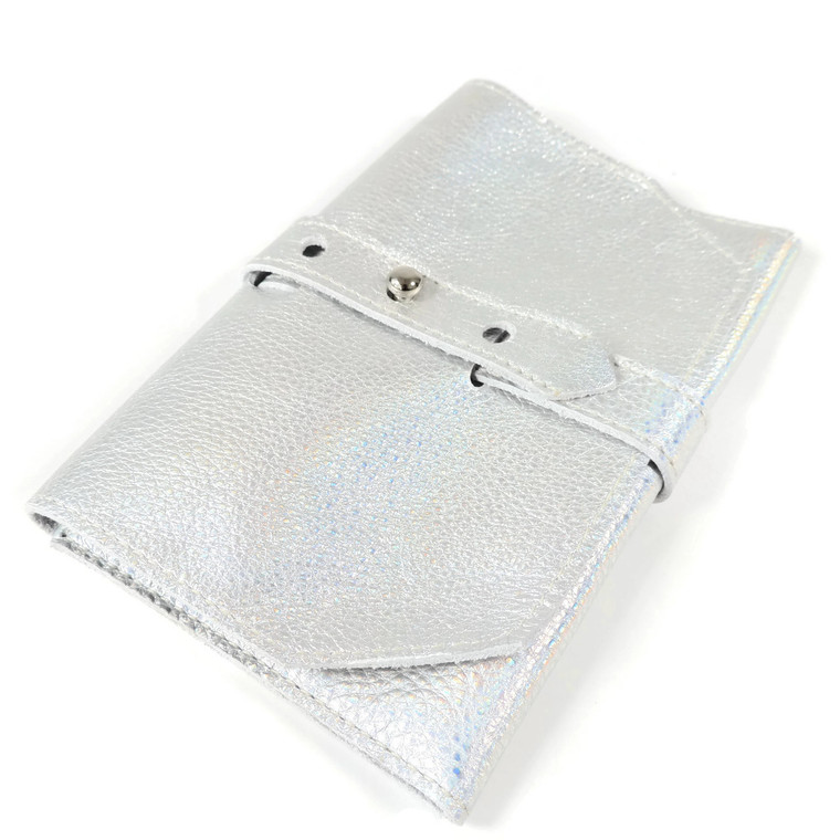 Cord Roll in Holographic Silver